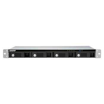 Image for QNAP TR-004U 4-Bay 1U Rackmount USB 3.0 RAID Expansion Enclosure for QNAP NAS AusPCMarket