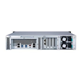 QNAP TS-h1277XU-RP 12-Bay Diskless 2U Rackmount NAS Ryzen 7 3700X 3.4GHz 128GB Product Image 2