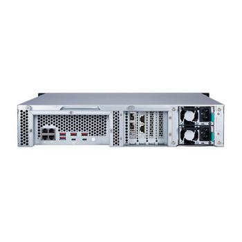 QNAP TS-h1283XU-RP 12-Bay Diskless 2U Rackmount NAS Xeon E-2236 3.4GHz 32GB Product Image 2