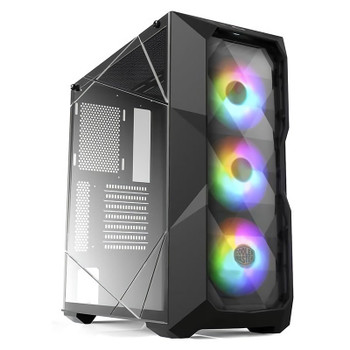 Image for Cooler Master MasterBox TD500 ARGB TG Mid-Tower ATX Case - Crystal AusPCMarket