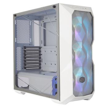 Cooler Master MasterBox TD500 ARGB TG Mid-Tower ATX Case - Mesh White Product Image 2