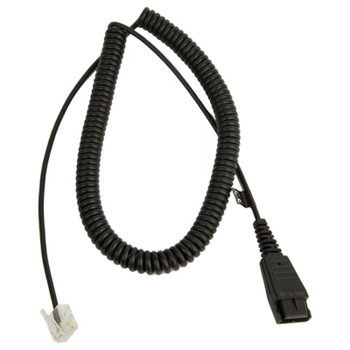 Image for Jabra LINK 2m Coiled Quick Disconnect to Modular RJ Cable AusPCMarket