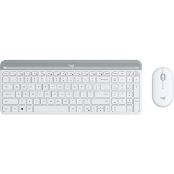 Image for Logitech MK470 Slim Wireless Keyboard and Mouse Combo - Off-White AusPCMarket