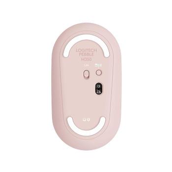 Logitech Pebble M350 Wireless Optical Mouse - Rose Product Image 2