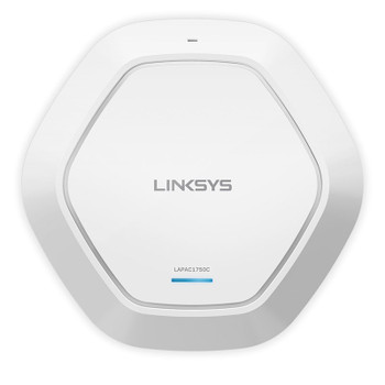Image for Linksys LAPAC1750C AC1750 Dual Band Cloud Access Point with PoE AusPCMarket