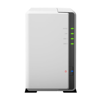 Image for Synology DiskStation DS220j 2-Bay Diskless NAS Quad Core CPU 512MB RAM AusPCMarket