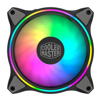 Image for Cooler Master MF120 Halo ARGB 120mm Case Fan AusPCMarket