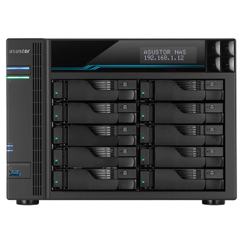 Asustor AS6510T 10-Bay Diskless Desktop NAS Quad-Core Atom CPU 8GB RAM Product Image 2