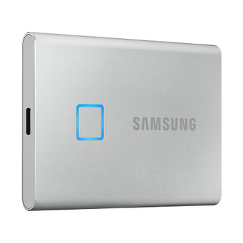 Image for Samsung T7 Touch 500GB USB 3.2 Portable SSD - Silver AusPCMarket