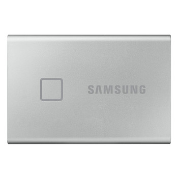Samsung T7 Touch 500GB USB 3.2 Portable SSD - Silver Product Image 2