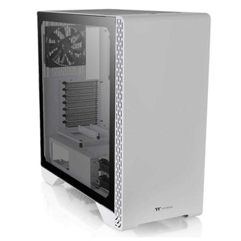 Image for Thermaltake S500 Tempered Glass Mid-Tower ATX Case - Snow Edition AusPCMarket