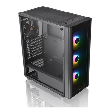 Image for Thermaltake V250 TG ARGB Tempered Glass Mid-Tower ATX Case - Black AusPCMarket