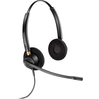 Image for Plantronics EncorePro HW520D Over-the-Head Wideband Binaural NC Corded Headset AusPCMarket