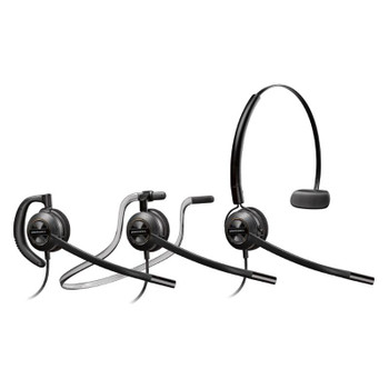 Image for Plantronics EncorePro HW540 Convertible Wideband Monaural NC Corded Headset AusPCMarket