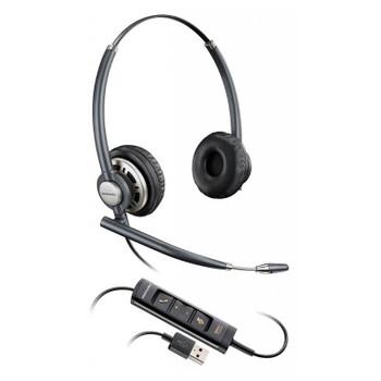 Image for Plantronics EncorePro HW725 Binaural USB PC Headset w/Inline Control AusPCMarket