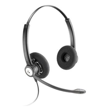 Image for Plantronics Entera HW121N Wideband Binaural NC Corded Headset AusPCMarket
