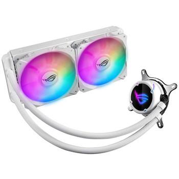 Image for Asus ROG Strix LC 240 RGB AiO Liquid CPU Cooler - White AusPCMarket