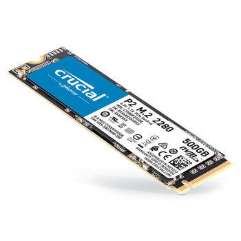 Crucial P2 500GB NVMe M.2 PCIe 3D NAND SSD CT500P2SSD8 Product Image 2