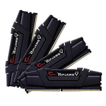 Image for G.Skill Ripjaws V 128GB (4x 32GB) DDR4 3600MHz Memory - Black AusPCMarket