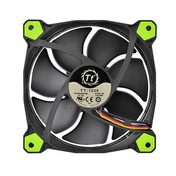 Thermaltake Riing 14 High Static Pressure 140mm Green LED Fan Product Image 2