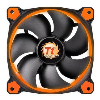 Image for Thermaltake Riing 14 High Static Pressure 140mm Orange LED Fan AusPCMarket