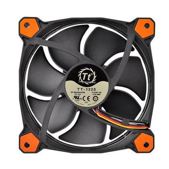 Thermaltake Riing 14 High Static Pressure 140mm Orange LED Fan Product Image 2