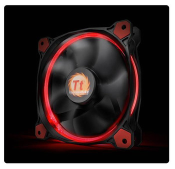 Thermaltake Riing 14 High Static Pressure 140mm Red LED Fan Product Image 2