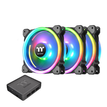 Image for Thermaltake Riing Trio 14 TT Premium Edition 140mm LED RGB Fan - 3 Fan Pack AusPCMarket