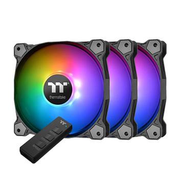 Image for Thermaltake Pure 12 120mm ARGB TT Premium Fans - 3 Pack with Controller AusPCMarket