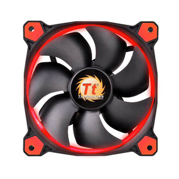 Image for Thermaltake Riing 12 High Static Pressure 120mm Red LED Fan AusPCMarket