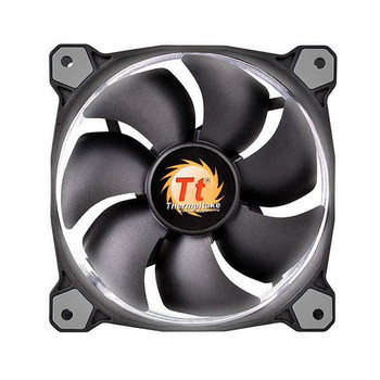 Image for Thermaltake Riing 12 High Static Pressure 120mm White LED Fan AusPCMarket