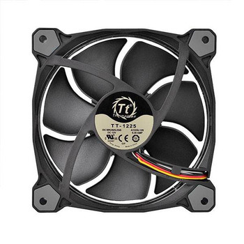 Thermaltake Riing 12 High Static Pressure 120mm White LED Fan Product Image 2