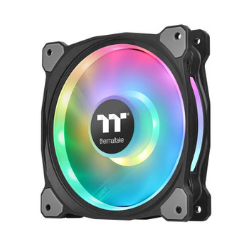 Thermaltake Riing Duo 12 120mm LED RGB TT Premium Edition Radiator Fans - 3 Pack Product Image 2