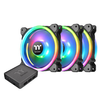 Image for Thermaltake Riing Trio 12 TT Premium Edition 120mm LED RGB Fan - 3 Fan Pack AusPCMarket