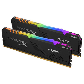 Image for Kingston HyperX FURY RGB 16GB (2x 8GB) DDR4 3466MHz Memory AusPCMarket