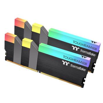Image for Thermaltake TOUGHRAM RGB 16GB (2x8GB) DDR4 3600MHz Memory - Black AusPCMarket
