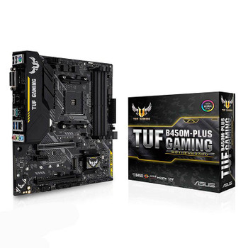 Image for Asus TUF B450M-PLUS GAMING AM4 M-ATX Motherboard AusPCMarket
