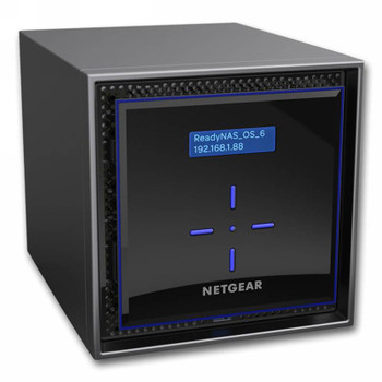 Image for Netgear ReadyNAS RN424E6-100AJS 24TB (4x 6TB Enterprise HDD) 4 Bay NAS AusPCMarket