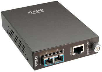 Image for D-Link DMC-700SC 1000BaseT to 1000BaseSX Multimode Media Converter AusPCMarket