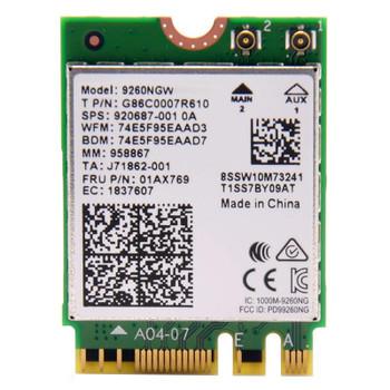 Image for Intel Dual Band Wireless-AC 9260 Wi-Fi/Bluetooth Combo Adapter - No vPro AusPCMarket