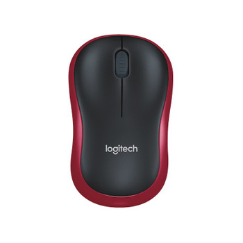 Image for Logitech M185 Wireless Mouse - Red AusPCMarket