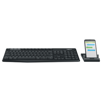 Image for Logitech K375s Multi-Device Wireless Keyboard and Stand Combo AusPCMarket