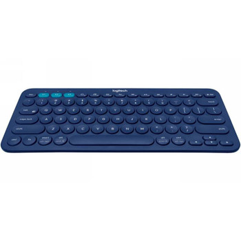 Image for Logitech K380 Multi-Device Wireless Bluetooth Keyboard - Blue AusPCMarket