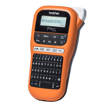 Brother P-touch Handheld Labeller PT-E110VP Product Image 2