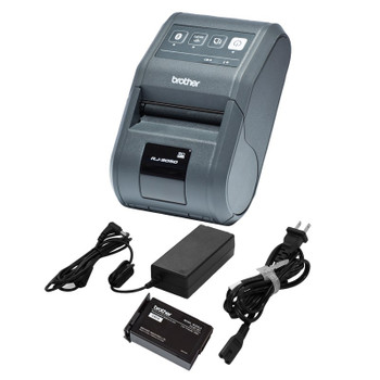 Brother RJ-3050-Bundle-Pack 72mm Mobile Wireless Thermal Printer Product Image 2