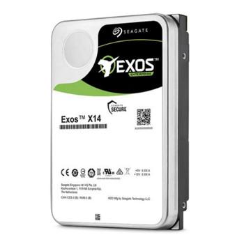 Seagate ST12000NM0248 Exos X14 12TB 3.5in SATA 512e/4Kn Enterprise Hard Drive Product Image 2