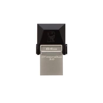 Image for Kingston DataTraveler microDuo 64GB USB 3.0 Flash Drive with micro USB OTG AusPCMarket