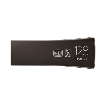 Samsung MUF-128BE4/APC 128GB USB 3.0 BAR Plus Flash Drive - Titan Gray Product Image 2