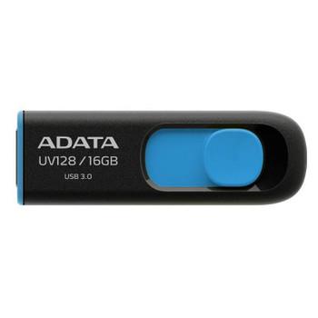 Image for Adata 16GB UV128 DashDrive USB 3.0 Flash Drive - Blue AusPCMarket