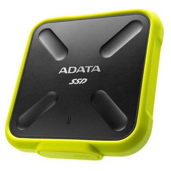 Image for Adata SD700 1TB USB 3.1 Portable External 3D NAND SSD - Yellow AusPCMarket